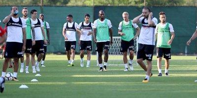 Beşiktaş'ta yeni sezon hazırlıkları sürdü