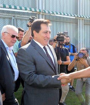 Vali İzzettin Küçük'ten Bursaspor'a ziyaret