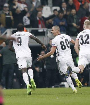 Aboubakar, UEFA haftanın 11'inde