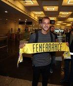 Fenerbahçe'nin yeni golcüsü İstanbul'da