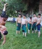Burdurlu pehlivanlar Kırkpınar'a hazırlanıyor