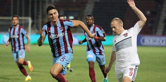 Trabzonspor ilk d�� saha maç�n� kaybetti
