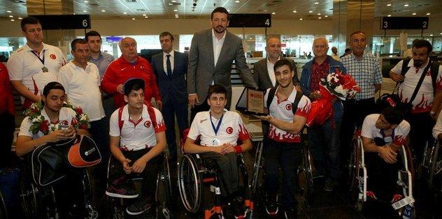 Dünya ikincisi Milli Takım İstanbul'da!