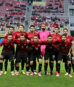 Kosova maçı dönüşü İstanbul'da...