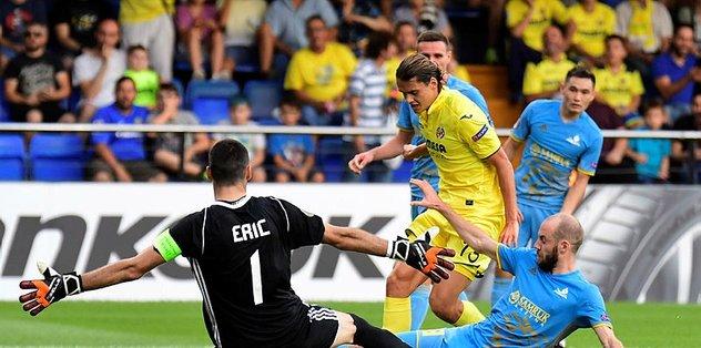 Villarreal, Astana'yı 3-1 mağlup etti