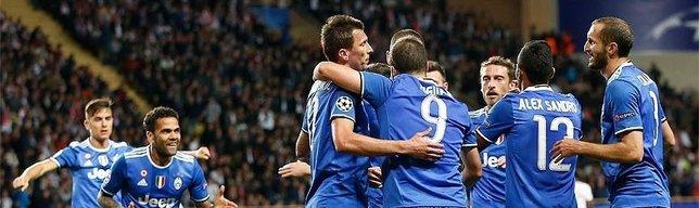 Juventus win 2-0 in Monaco