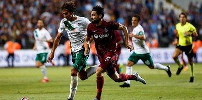 Trabzon ile Bursa 81. randevuda