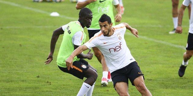 Ndiaye Galatasaray'da ilk antrenmanına çıktı