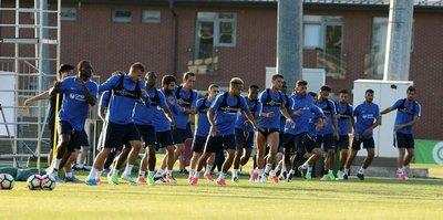 Trabzonspor günü 3 idmanla tamamladı