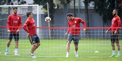 Galatasaray'da derbi maçı hazırlıkları