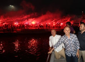 Trabzonsporda 50.yıl kutlamaları