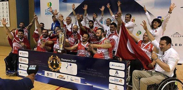 Turkey wins European wheelchair basketball championship