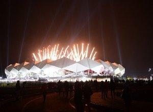 Şenol Güneş Stadına görkemli açılış