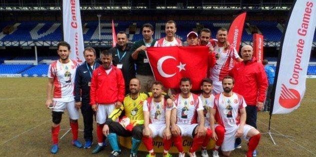 Cumhurbaşkanı Erdoğan'ın takımı İETT dünya şampiyonu oldu
