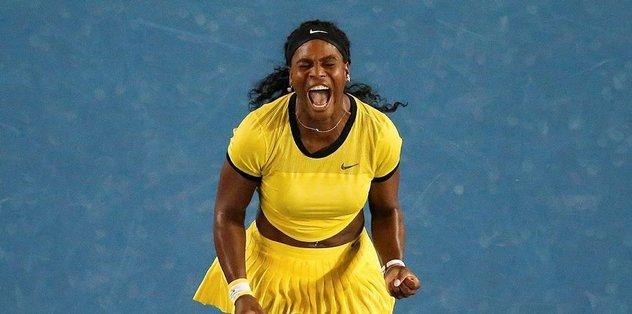 Serena Williams'tan büyük tepki: