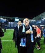 Cumhurbaşkanı'ndan Trabzonspor'a kutlama