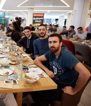 Beşiktaşlı basketbolculara moral yemeği