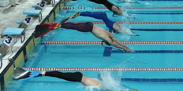 Paletli yüzmede Avrupa Şampiyonası heyecanı