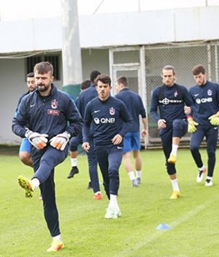 Trabzonspor ma� saatini bekliyor