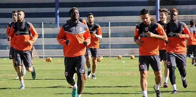 Adanaspor'da Ç. Rizespor maçı hazırlıkları