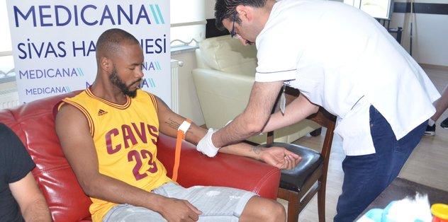 Sivasspor'a sağlık kontrolü