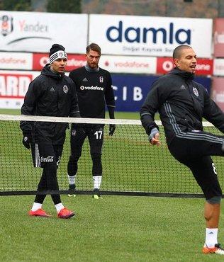 Beşiktaş ara vermeden çalışmalara başladı