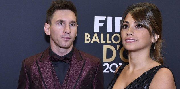 Gözler Messi'nin düğününde