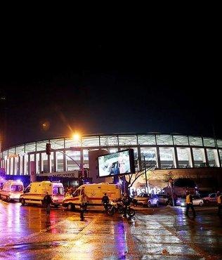 Vodafone Arena yakınında patlama