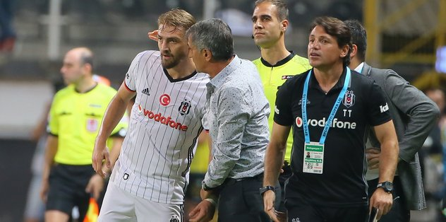 Beşiktaş'ta Caner Erkin sürprizi