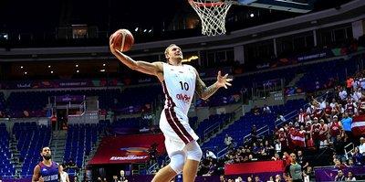 Letonya, Britanya'yı yendi