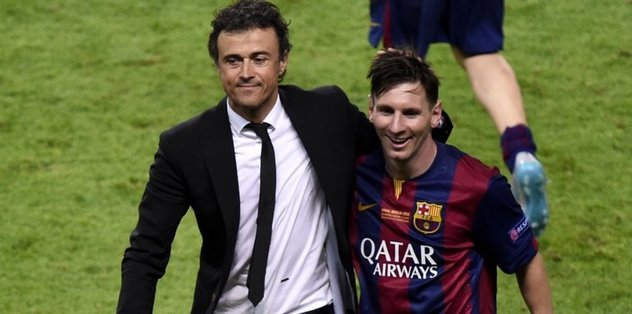 Luis Enrique'den Messi'ye övgü