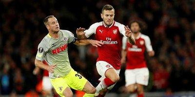 Olaylı maç Arsenal'in