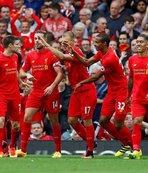 Anfield Road'da gol şov