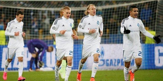 Dinamo Kiev'e son dakika şoku