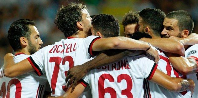 Milan deplasmanda farklı kazandı
