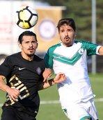 Osmanlıspor, hazırlık maçında Giresunspor'u farklı yendi