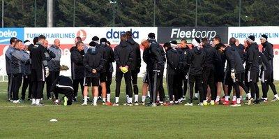 Beşiktaş, Osmanlıspor'a hazırlanıyor