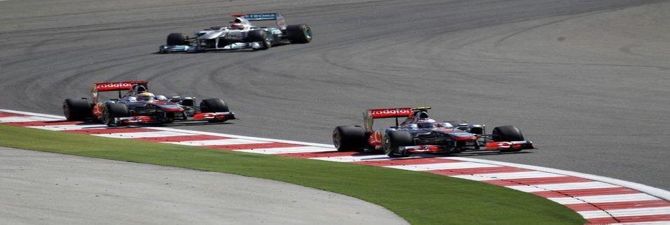 İstanbul'dan Formula 1 kareleri