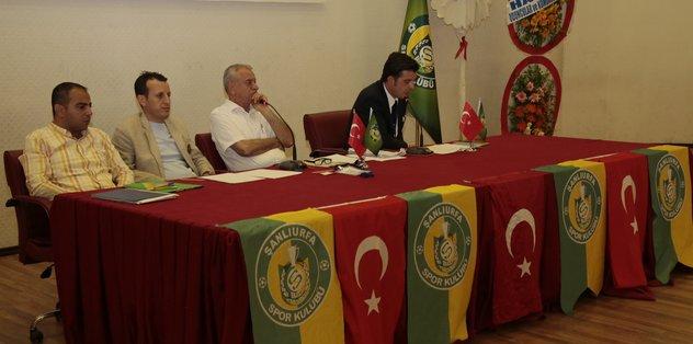 Şanlıurfaspor'da Emin Yetim yeniden başkan seçildi