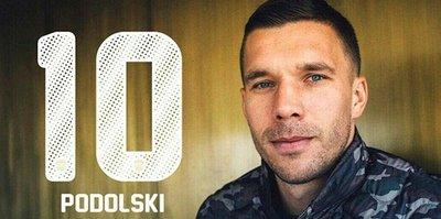 Hoş geldin Podolski