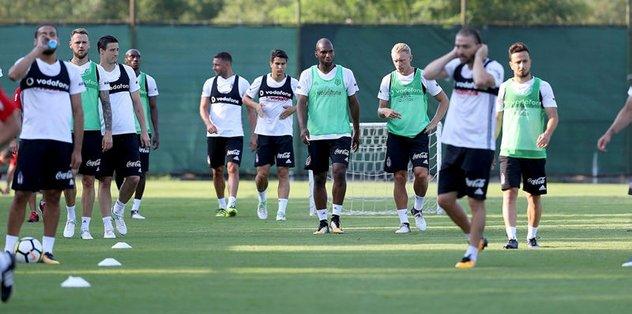 Beşiktaş'ta hazırlıkları sürüyor
