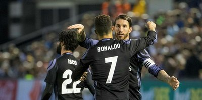 C. Ronaldo, Real Madrid'i zirveye taşıdı