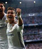 Madrid derbisinde Ronaldo şov!