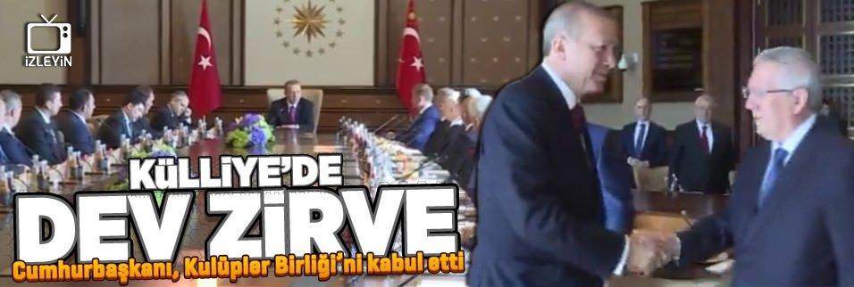 Cumhurba�kan� Erdo�an, Kul�pler Birli�i'ni kabul etti