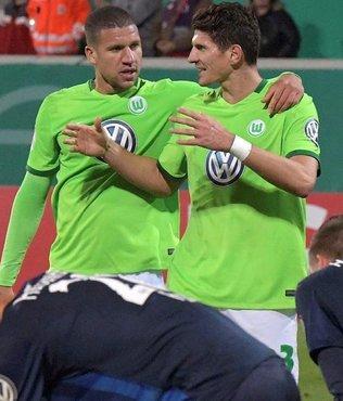Wolfsburg zor da olsa kazand�
