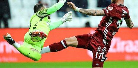 Beşiktaş maçında şok