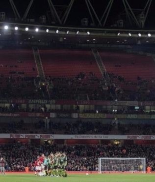 İngiliz taraftarlar Lig Kupası'na ilgisiz kaldı