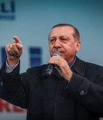 Cumhurbaşkanı Erdoğan, Merkel'e sert çıktı