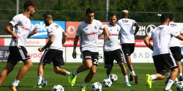 Beşiktaş'ta Şampiyonlar Ligi mesaisi