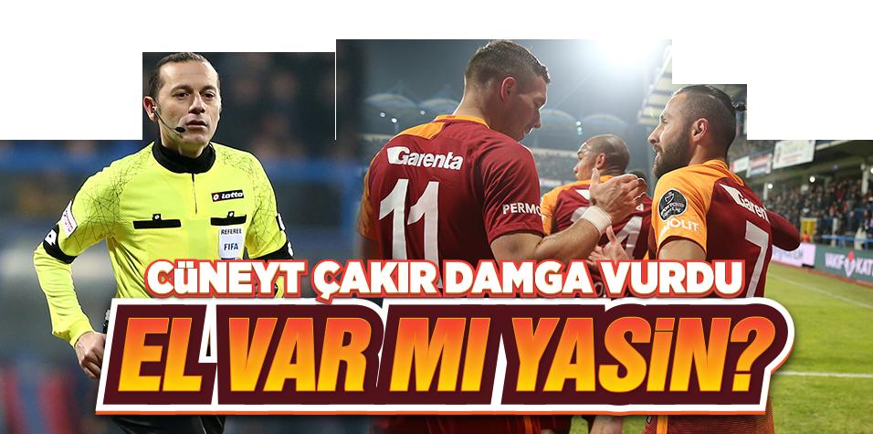 Cüneyt Çakır golü Yasin'e sordu